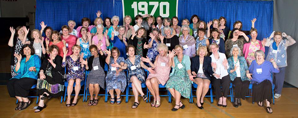 Cheers to 50 Years! Celebrate with the Class of 1970!