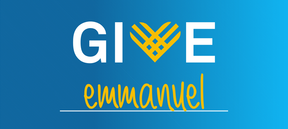 #GivingTuesday #GiveEmmanuel | 11.28.17