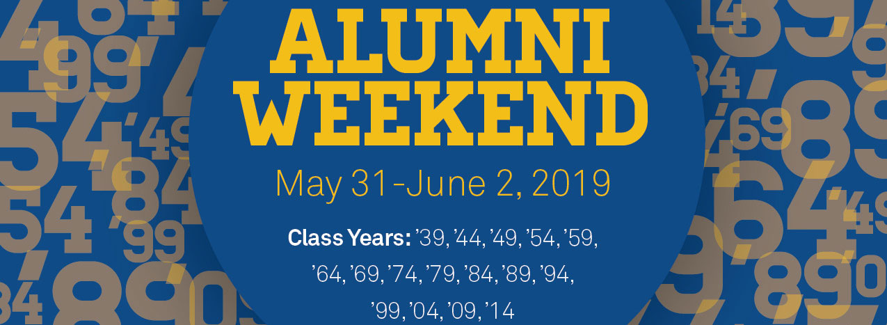 Emmanuel College Alumni Weekend 2019: May 31 - June 2, 2019