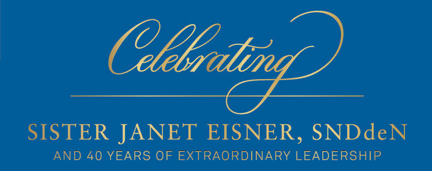 Gala to Celebrate Sister Janet Eisner's 40th Anniversary as Emmanuel College President