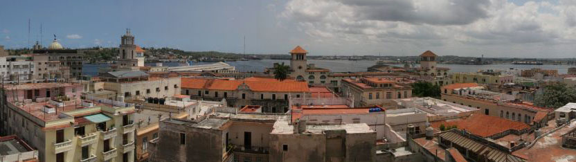 Panoramic of Old Havana (Cuba) by Brian Snelson from Hockley, Essex, England