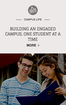 Building an engaged campus, one student at a time